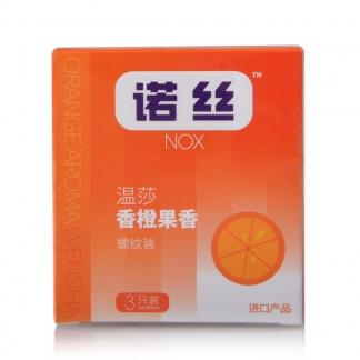 诺丝香橙味3只...